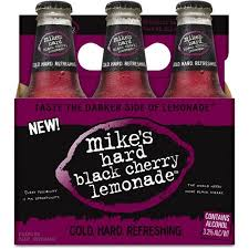 how much alcohol is in mike s hard lemonade light mike s hard lemonade black cherry lemonade 6 pack 11 2 fl oz