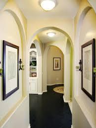 photos hgtv hallway arches with wall niches idolza
