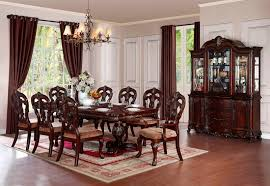 von furniture deryn park formal dining room set