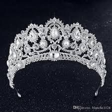 tiaras for sale 2018 luxury shining bridal tiaras royal wedding rhinestones crown