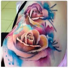 tattoo roses on shoulder 46 beautiful watercolor rose tattoos