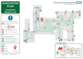 Fire Evacuation Plan Office by Nhs Evacuation Plan Fire Evacuation Plans Pinterest