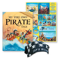 my pirate adventure personalized book i see me