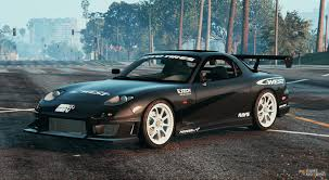 stanced rx7 bravado banshee replace for gta 5