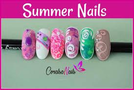 imagenes uñas para decorar como decorar tus uñas para este verano coralsanails