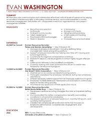 best resume layout hr generalist sle hr resumes hr resume objective street generalist sle sap