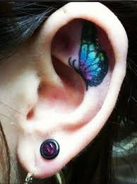 best 25 inner ear tattoo ideas on pinterest ear tattoos inner