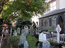 cemetery fence halloween prop necrobones halloween haunting makaabe manor