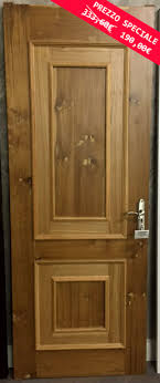 porte in legno massello offerte mese porta legno massello quercia