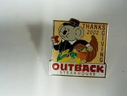 buy outback steakhouse thanksgiving 2007 koala in pilgrim