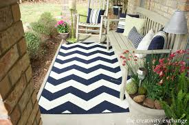 Outdoor Chevron Rug Hello Front Porch Rev Patio Rugs Front Porches And Porch