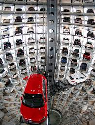 volkswagen germany headquarters world u0027s coolest car parks spectacular sites that are vying for