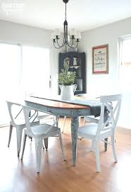 Shabby Chic Dining Tables For Sale by Dining Table Grey Painted Dining Table And Chairs White And Blue