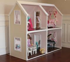 Big Barbie Dollhouse Tour Youtube by Doll House Plans For American Or 18 Inch By Addielillian