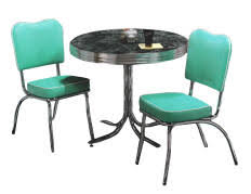 Retro Kitchen Table Sets Retro Diner Table And Chair Sets