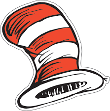the cat in the hat hats paper kids cut outs eureka