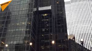 Trump Tower Nyc by Man Climbs Trump Tower In Nyc Using Suction Cups Youtube