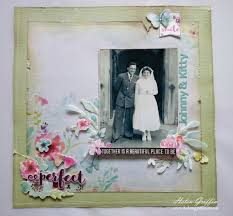 wedding scrapbook ideas vintage wedding scrapbook page without heritage colours