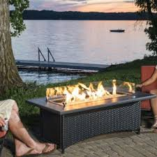Fire Pit Coffee Table Outdoor Gas Fire Pit Tables With Heat Output Of At Least 55 000