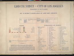Map Of Los Angeles Airports File Wpa Land Use Survey Map For The City Of Los Angeles Book 9