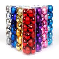 wholesale ornaments colorful balls buy cheap