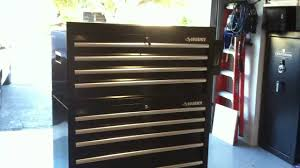 husky 5 drawer side cabinet husky 40 inch 10 drawer tool chest youtube