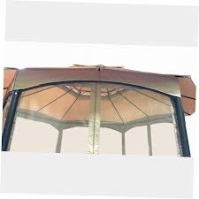 Replacement Canopy by Replacement Privacy Curtains Gazebo Gazebo Ideas