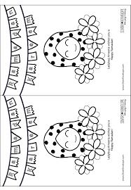 coloring pages 5 little pumpkins