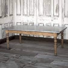 best 25 zinc table ideas only on pinterest concrete table top