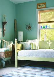bedroom gorgeous green blue bedroom decoration using light