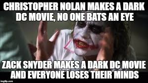 Nolan Meme - and everybody loses their minds meme imgflip
