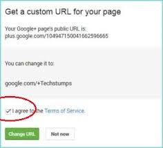 Google Plus Page Vanity Url How To Get Custom Url For Your Google Plus Profiles Pages Tech
