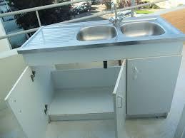 meuble cuisine avec evier incroyable meuble cuisine avec evier pas cher 6 meuble evier inox
