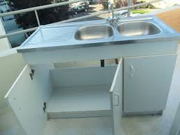 meuble de cuisine avec evier inox incroyable meuble cuisine avec evier pas cher 6 meuble evier inox