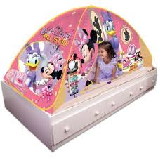 Minnie Mouse Canopy Toddler Bed Fingerhut Delta Disney Minnie Mouse Toddler Bed With Canopy