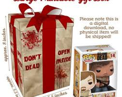 walking dead wrapping paper walking dead etsy