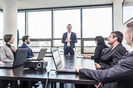 bureau reunion réunion de bureau d équipe d entreprise constituée en société