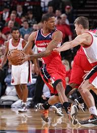 washington wizards v portland trail blazers photos and images