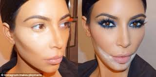 Colleges For Makeup Artists Kim K U0027s Makeup Artist Takes Credit For Another Old Makeup