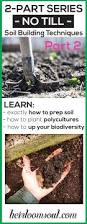 5 steps to building healthy soil increasing the biodiversity of