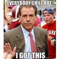 Funny Alabama Football Memes - everybody chill out roll tide pinterest roll tide alabama
