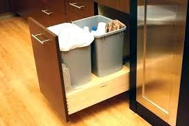 kitchen trash can ideas inside cabinet trash can kitchen innovative of kitchen trash can
