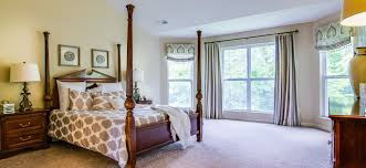 master bedroom large windows four poster bed stafford floor