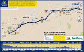 Boston Downtown Map by A Spectator U0027s Guide To The 2015 Boston Marathon Wbur News