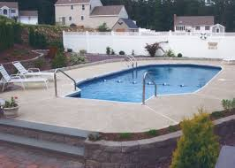 Backyard Pool Sizes by Eagle Pool And Spa Inc Pennsylvania Vinyl Liner In Ground