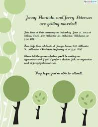 wedding invitations messages invitation wording for a casual wedding