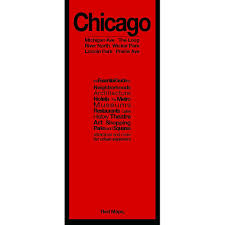 Map Chicago by Chicago City Guide By Red Maps