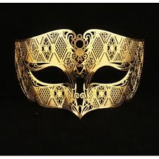 gold masquerade mask gold masquerade mask laser cut metal masks for men