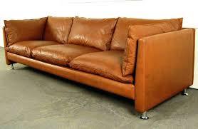 Black Leather Mid Century Sofa Mid Century Leather Sofa Endearing Mid Century Modern Leather Sofa