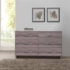 wayfair bedroom dressers 6 drawer chest dresser zipcode design chicopee modern reviews